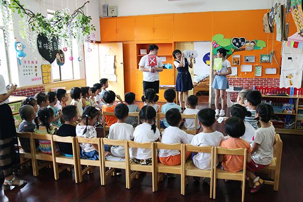 青春健康教育活动走进幼儿园课堂